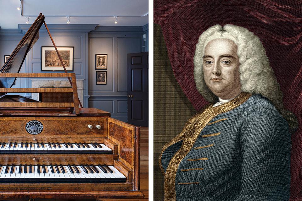 А за стеной – репетиционная комната вквартире композитора Генделя. Георг Фридрих Гендель