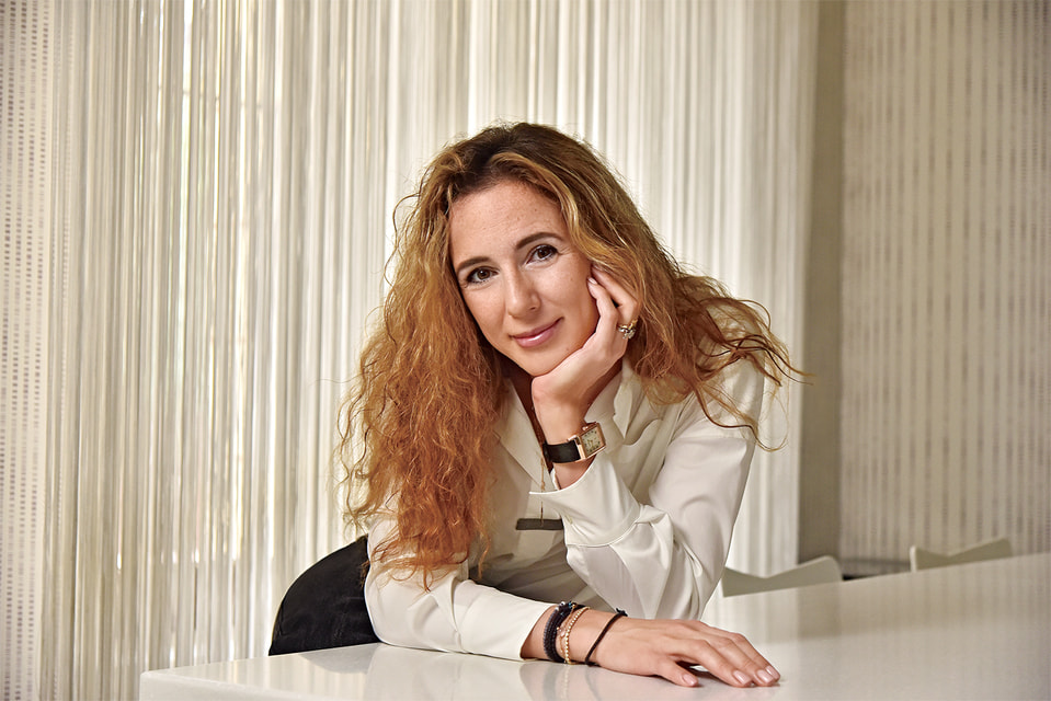 Мария Кальцидис, основатель и креативный директор Maria Kovadi Fine Jewellery