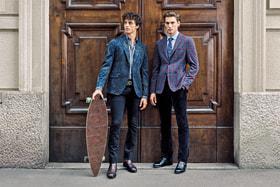 Etroпредставил коллекцию классических однобортных пиджаков 24 hour jacket