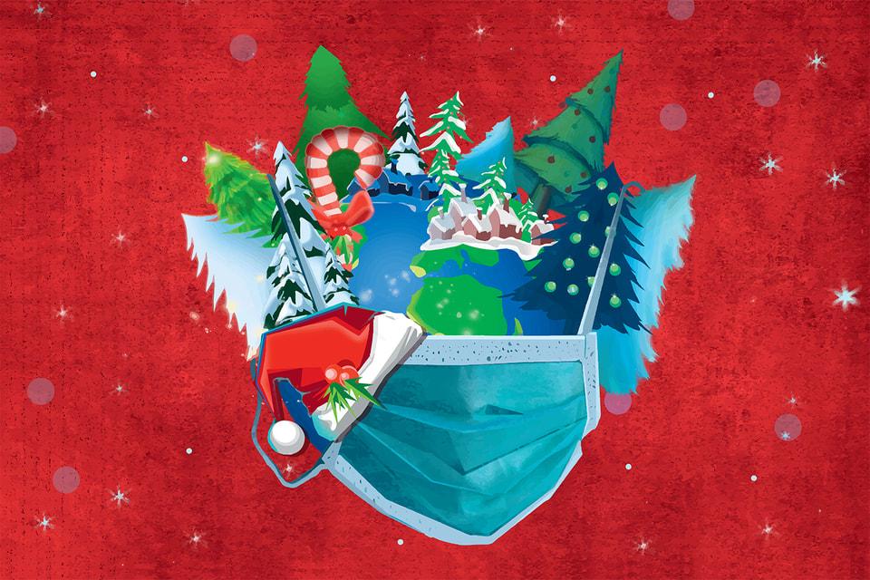 Тапочки, валенки, спортивные костюмы и маски, маскарадные и медицинские, – таковы новые хиты праздничного сезона