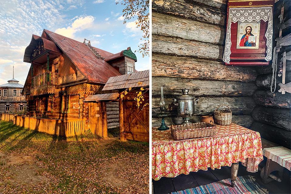 Музей, созданный семьей Мазалецких-Дегтяревых, – это по сути ожившая деревня: тут есть избы, амбары, лавка, часовня...