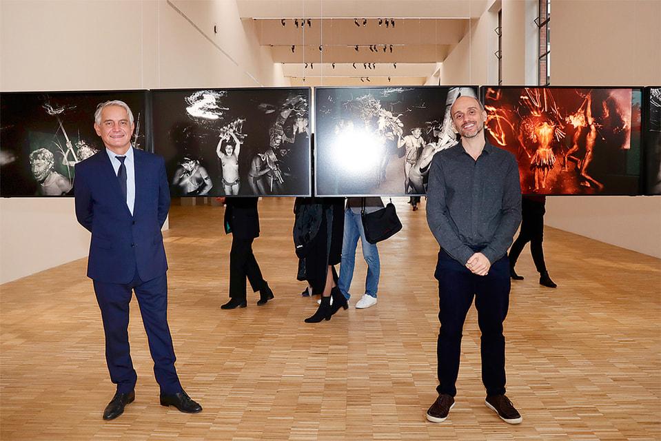 Миланский музей дизайна La Triennale diMilano, стараниями своего директора Эрве Шандеса (слева на фото; справа – куратор выставки – Тьяго Ногейра) стал настоящим творческим плацдармом