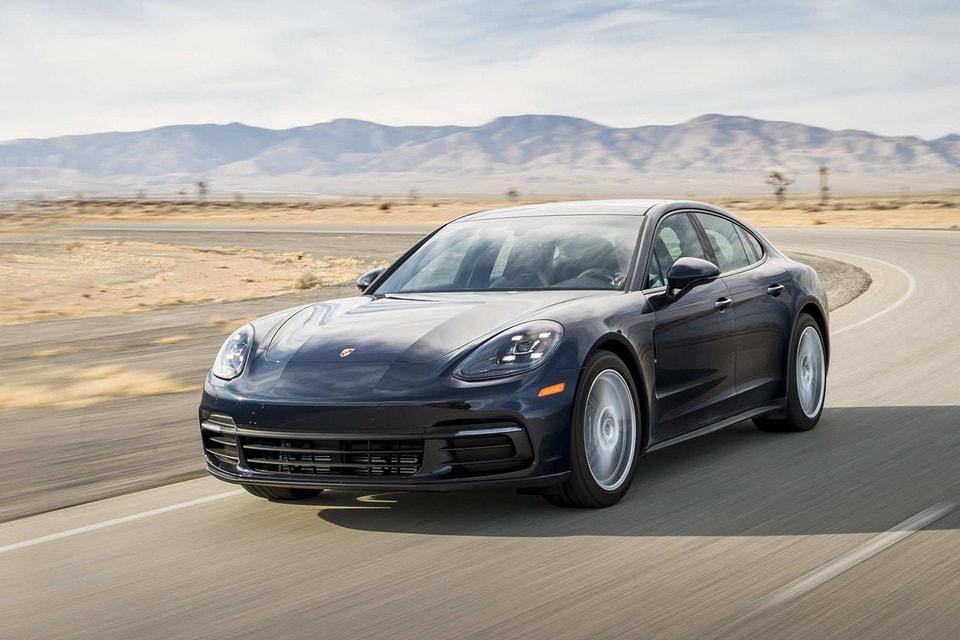 На первом месте оказался Porsche Panamera