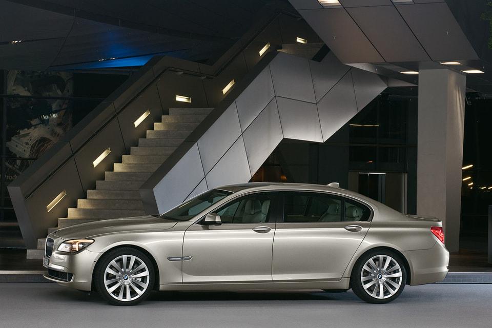 На втором месте – модель BMW 7-й серии