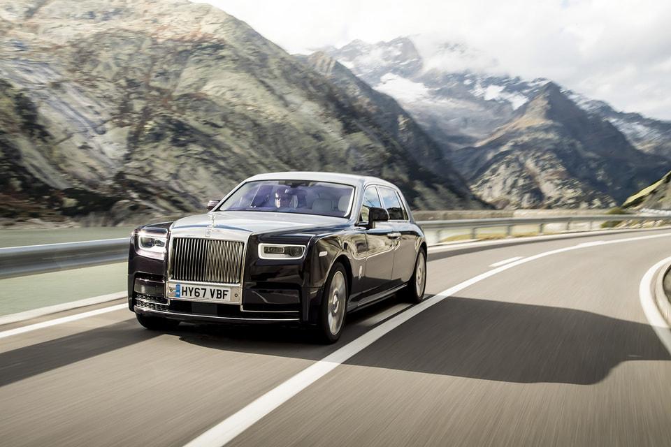 Третье место – у Rolls-Royce Phantom