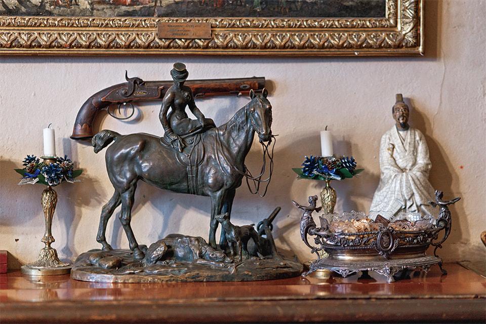 Скульптура Е. А. Лансере «Амазонка»
