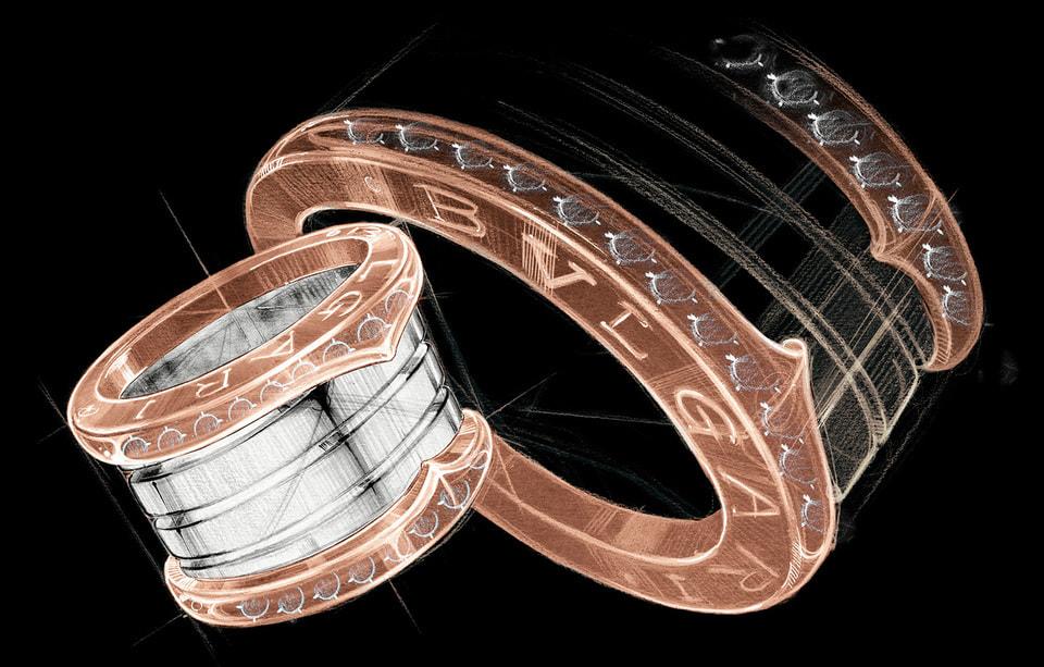 Силуэт колец B.zero1 дизайнеры Bvlgari позаимствовали у древнеримского Колизея – Дом всегда предлагал самобытное, современное видение наследия древних цивилизаций Средиземноморья