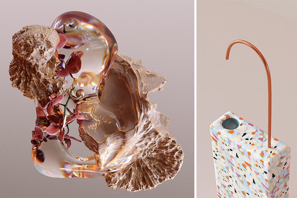 Цифровые скульптуры Shimasu «Multiform» и диспенсер Step One