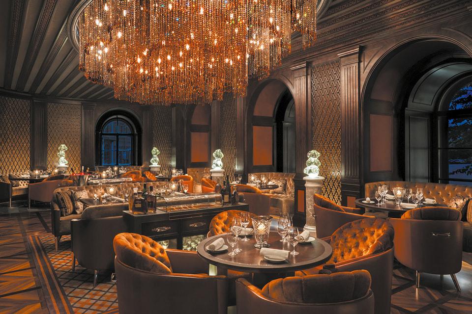 Ресторан Percorso, Four Seasons Hotel Lion Palace