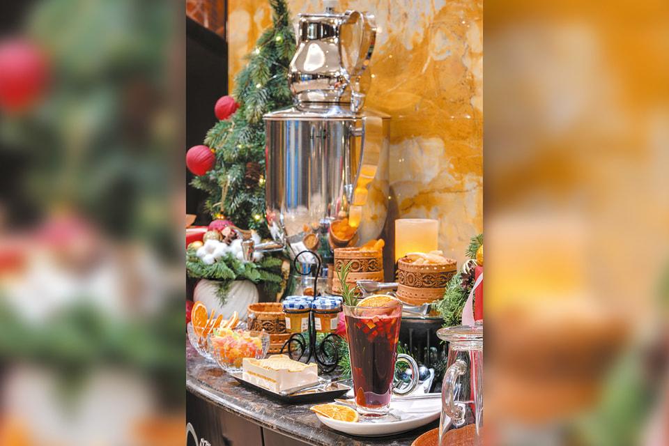 Праздничное угощение, Lotte Hotel St.Petersburg