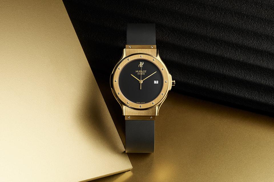 Часы Hublot Classic Original 1980 года – именно с революционного для того времени сочетания дорогого золота и демократичного каучука началась концепция The Art of Fusion