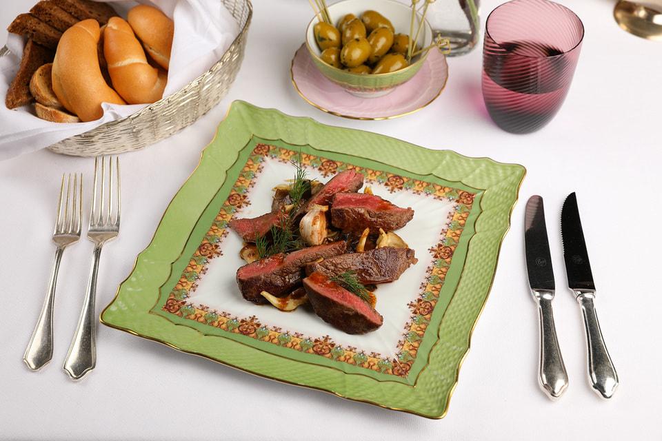 Новые сезонные блюда от шеф-повара Bosco Cafe Давиде Корсо