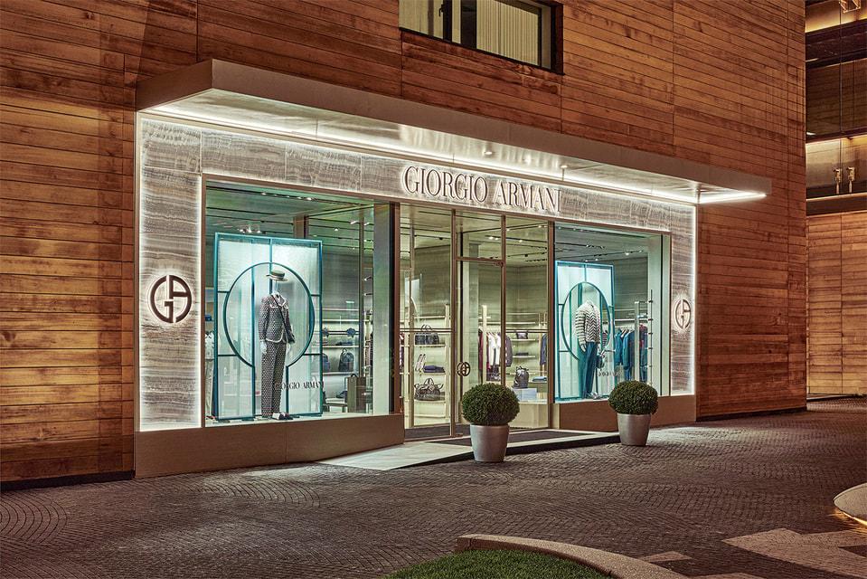 Обновленный бутик Giorgio Armani в «Барвихе Luxury Village»