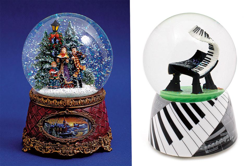 Любой снежный шар можно отреставрировать там же, в Glassglobe