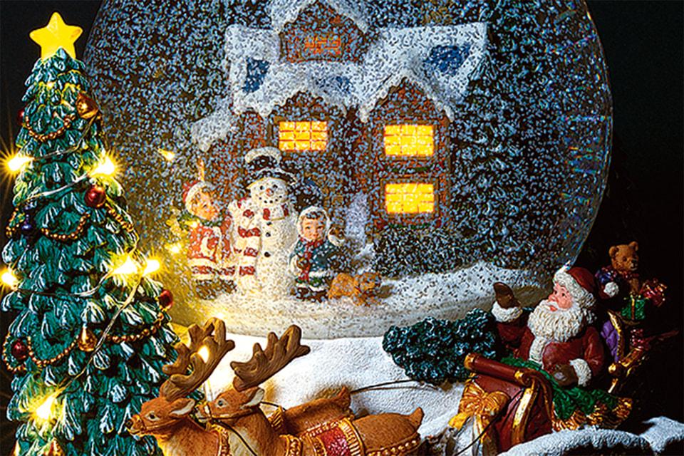 Снежные шары авторства российской компании Glassglobe