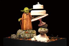 Магистр Йода из «Звездных войн»– торт от Peboryon