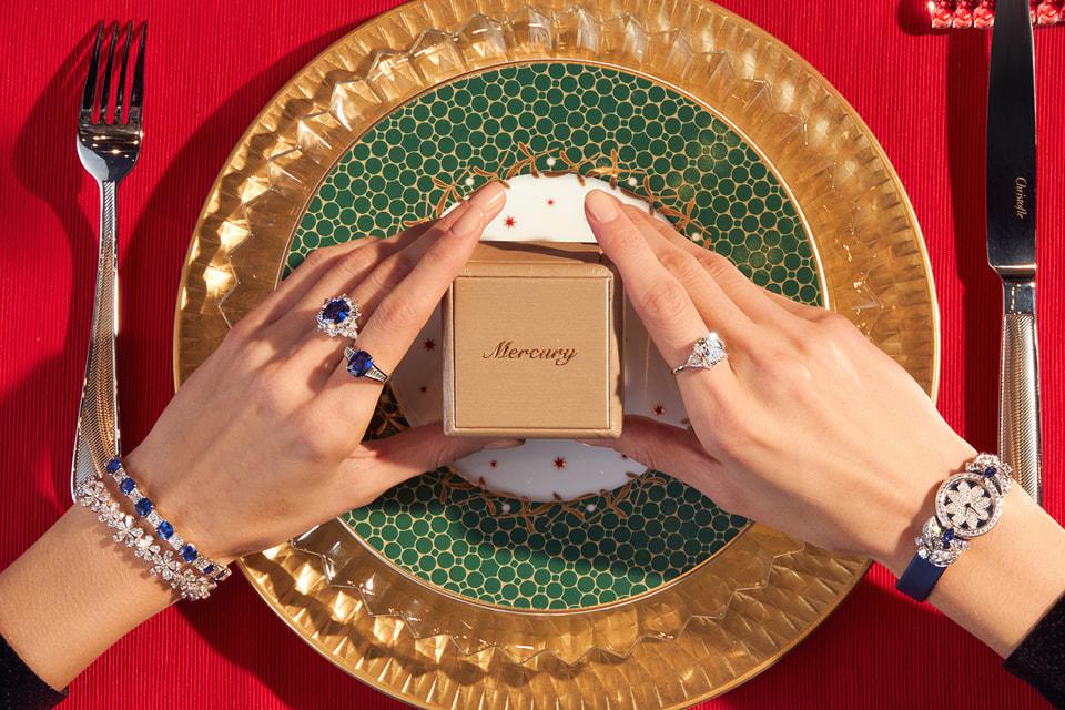 К услугам клиентов бутика Mercury – коллекции украшений и часов ведущих мировых брендов