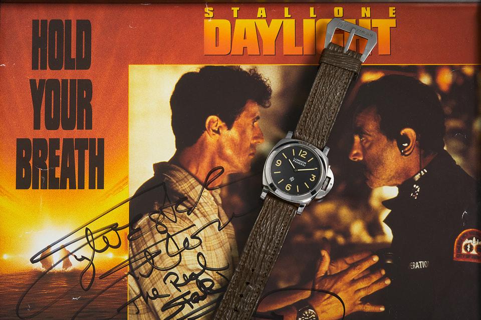 Ушедшие с молотка аукциона Philips часы «играли» с актером Сильвестром Сталлоне в фильме «Дневной свет» 1996 года