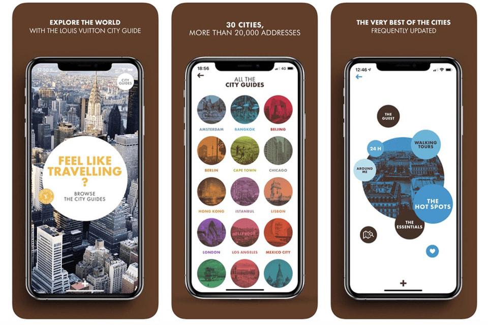 Адреса значимых для модного мира мест теперь доступны и в онлайн путеводителе Louis Vuitton