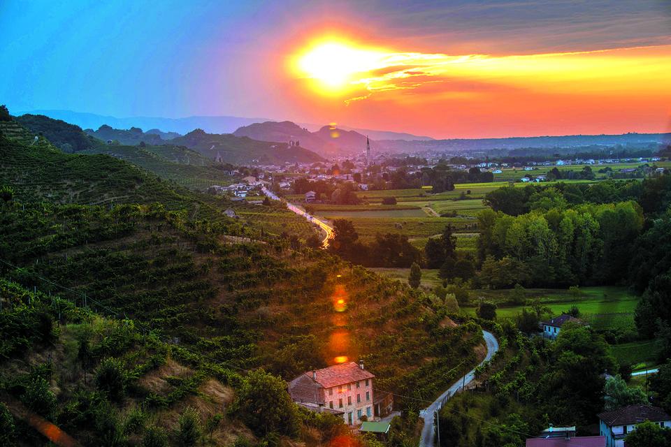 Самые престижные виноградники просекко,Вальдоббиадене