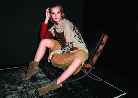 Юбка и свитер с принтом, коллекция Code Cool<br>