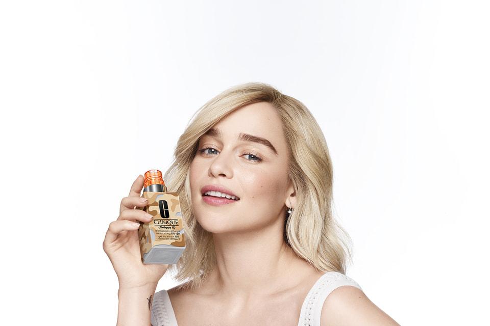 Косметический «дебют» актрисы Эмилии Кларк состоится в рекламной кампании, посвященной кастомизированной системе ухода за кожей Clinique iD