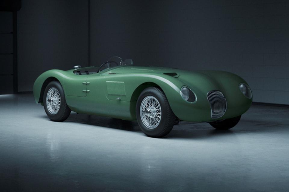 Jaguar 1953 года с дисковыми тормозами