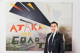 Галерист Владимир Овчаренко