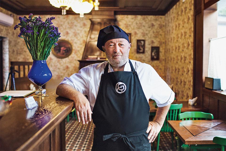 Основатель коммуны «Хорошее время» Сергей Гутцайт