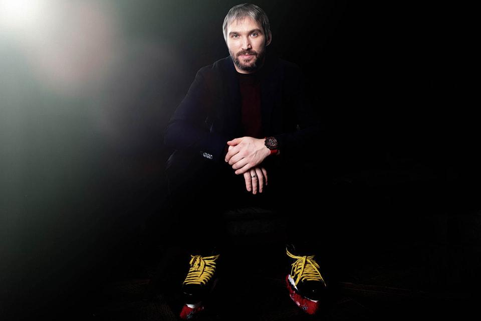 Российский хоккеист Александр Овечкин – официальный друг-посланник Hublot с февраля 2020 года