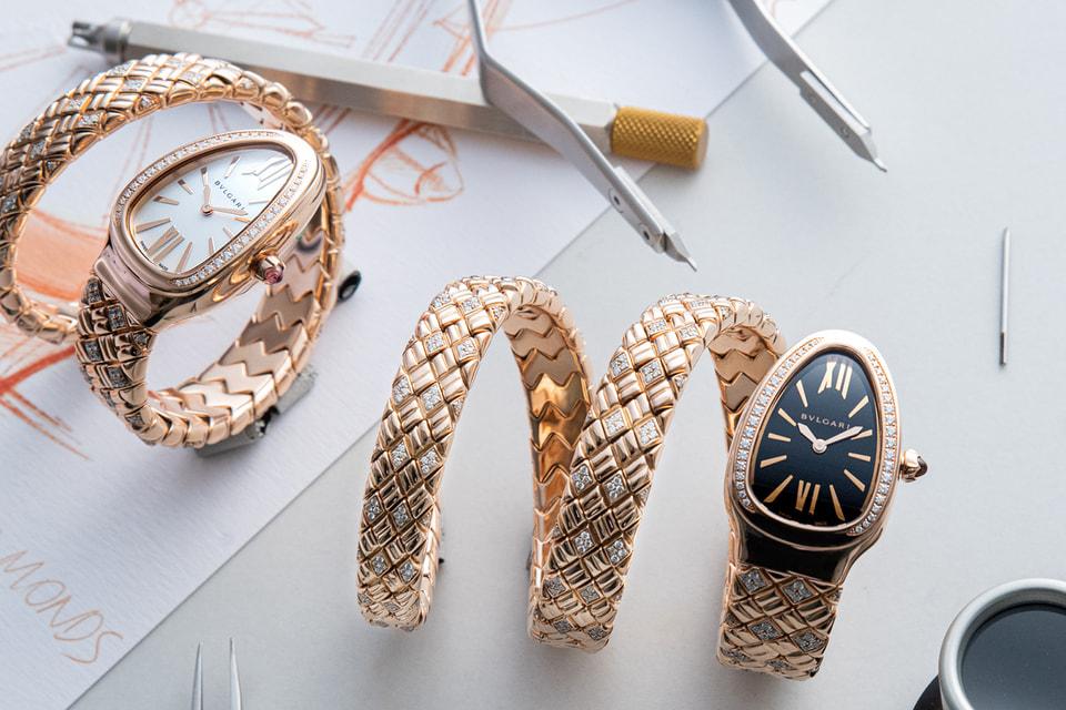 Часы Serpenti Spiga – новая вариация 2021 года на знаковую для Дома Bvlgari тему