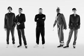 Ким Джонс и друзья Dior – актеры Арно Валуа и Жереми Лаэрта, предприниматель Юнес Бенджима и художник Кайланд Моррис  <br>