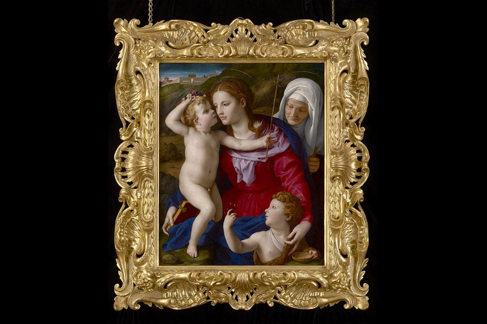Аньело Бронзино «Мадонна с младенцем и Иоанном Крестителем» в 1964 году продавалась в Милане за $5945, куплена в 2019 году музеем Пола Гетти в Малибу за сумму, которую руководство музея так и не решился озвучить. Этот шедевр любимого придворного живописца семьи Медичи практически не имеет аналогов среди работ Бронзино все еще находящихся в частных руках