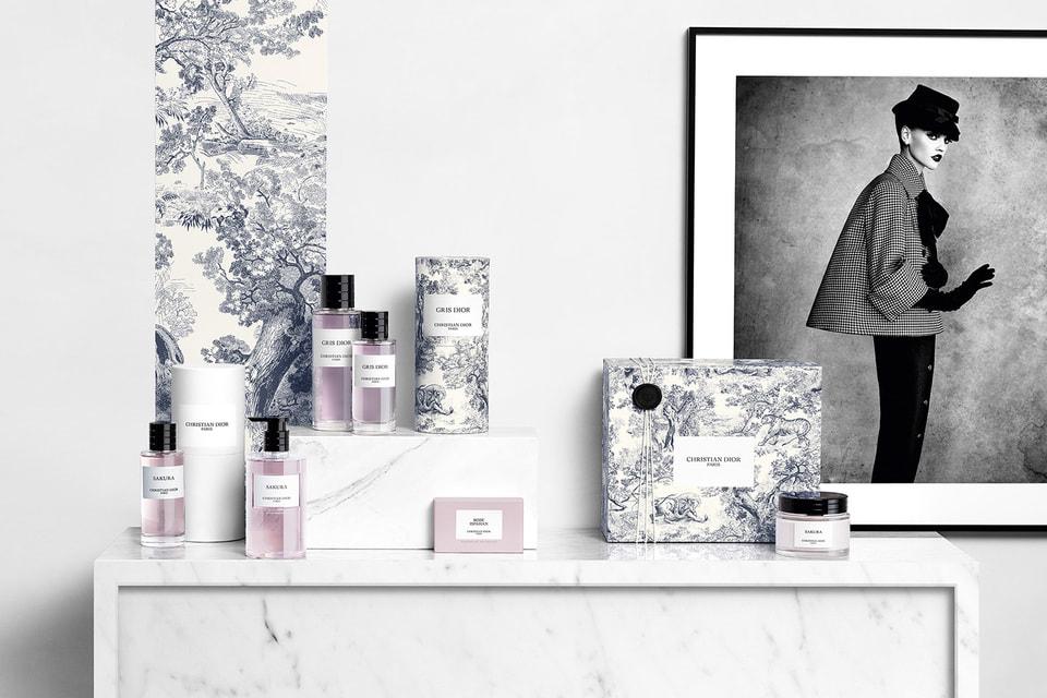 Три знаковых аромата – Lucky, Gris Dior и Oud Ispahan – впервые «оделись» в фирменный орнамент Toile de Jouy