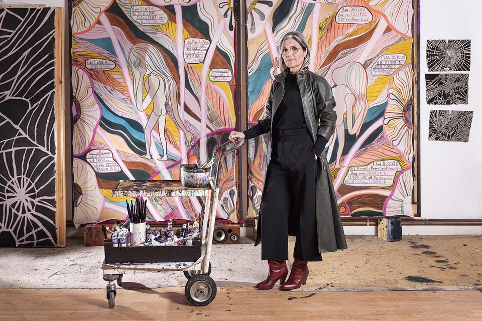 Лондонская художница Эмма Тэлбот представила серию из четырех рисованных фильмов