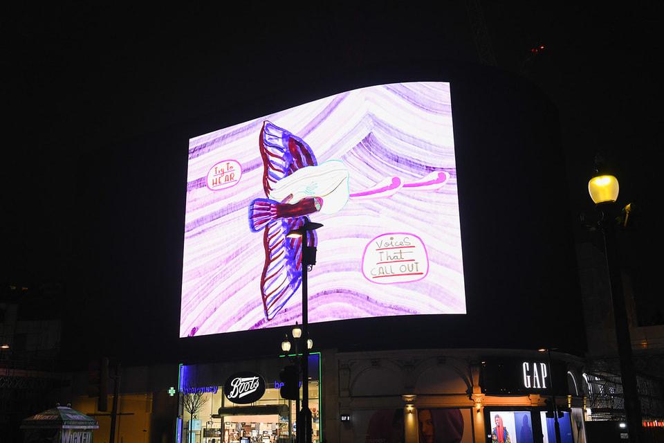 Каждому участнику предлагается создать работу для самого большого экрана в Европе, расположенного на площади Пикадилли в Лондоне