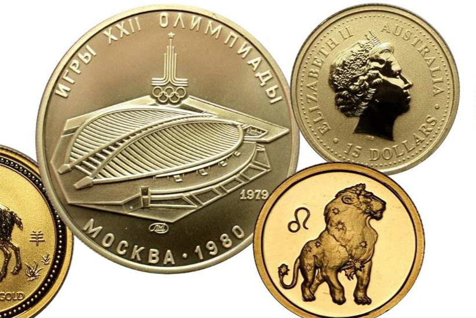 За год в Москве купили 205 917 инвестиционных и памятных монет общим весом более 2,5 т