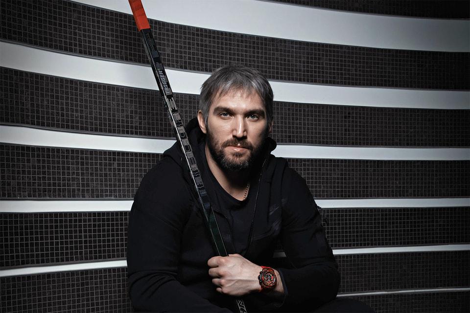 Хоккеист Александр Овечкин впервые стал соавтором часов бренда