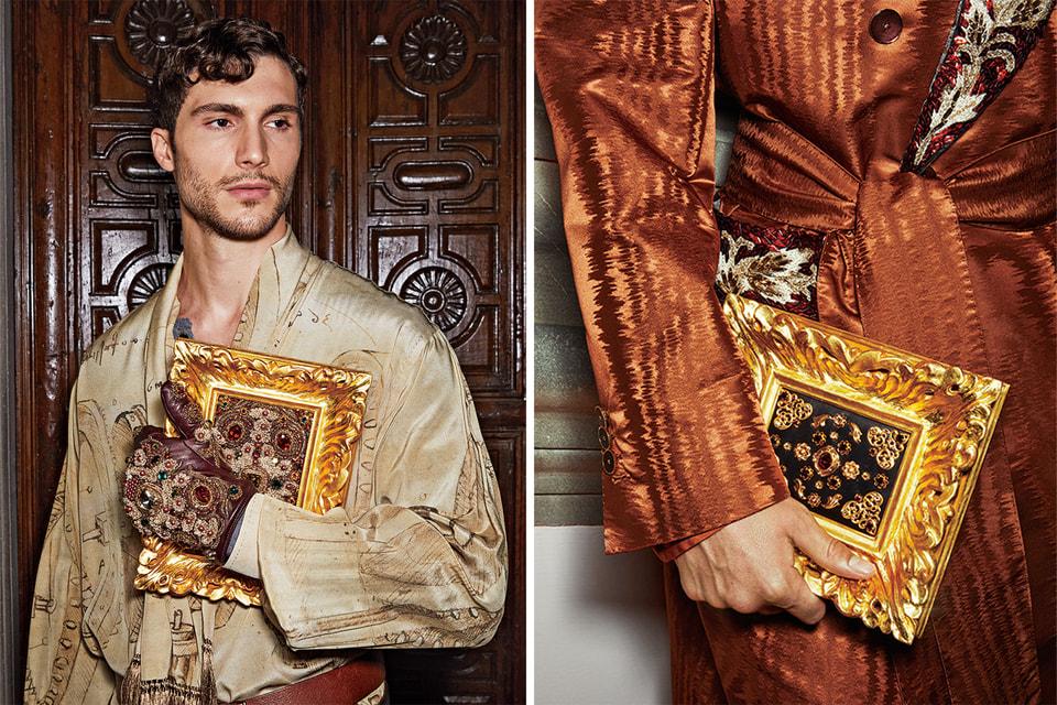 Клатчи из коллекции Alta Sartoria–  результат сотрудничества Dolce & Gabbana и Г.Мазелли