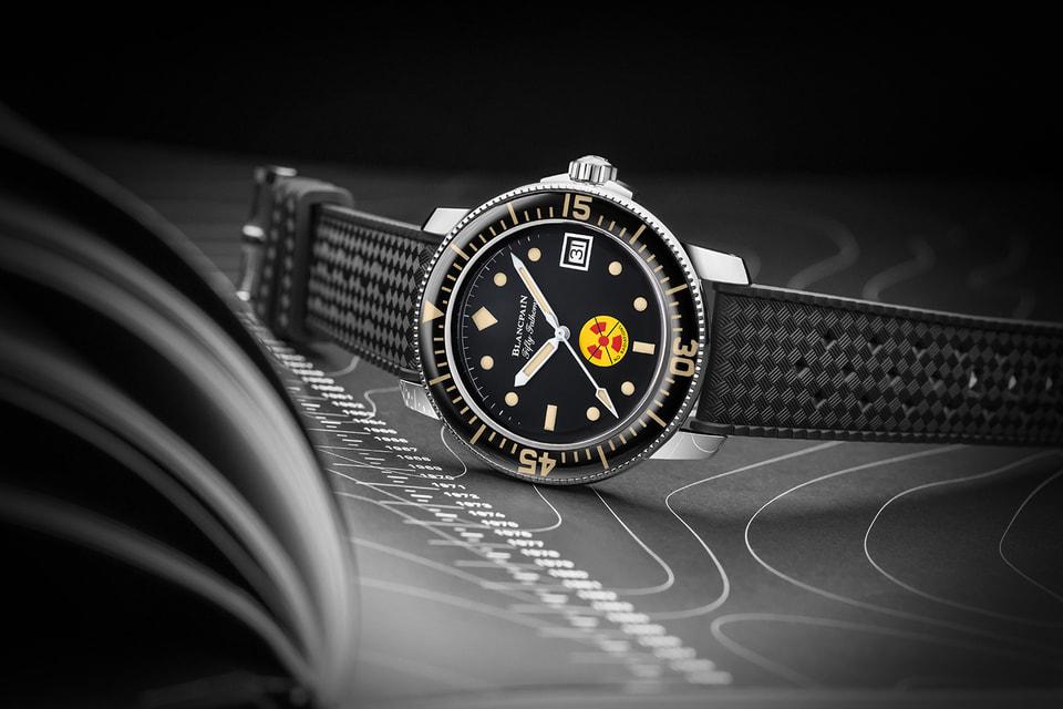 Современные часы Fifty Fathoms No Rad – дань Blancpain профессиональному инструменту для боевых ныряльщиков немецкого военно-морского флота середины 1960-х годов