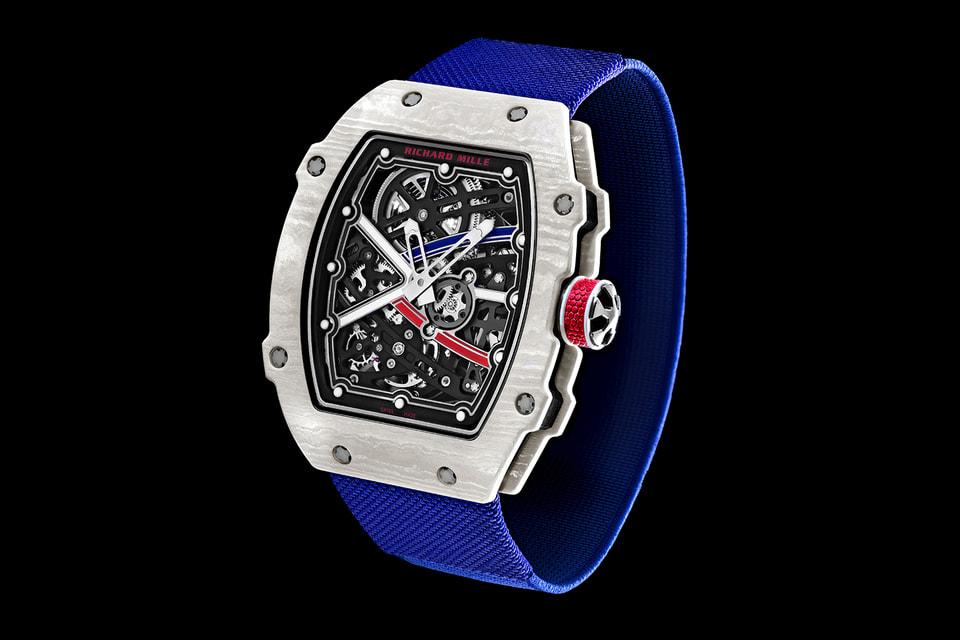 Модель часов RM67-02 – cамые легкие автоматические часы Richard Mille: их вес составляет всего 32 г