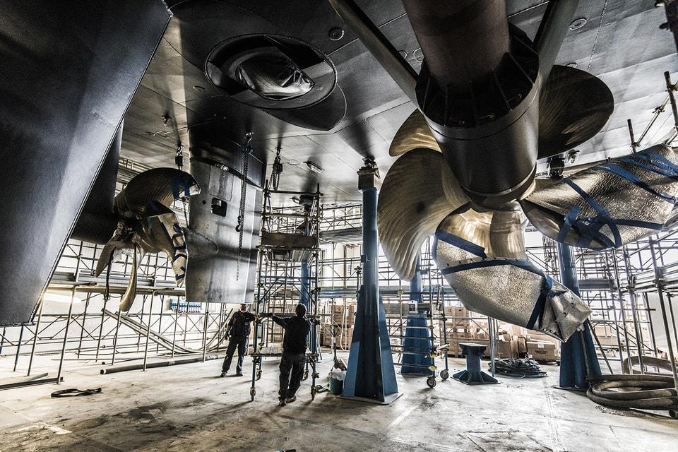 Масштаб строящихся яхт впечатляетдаже самых искушенных
