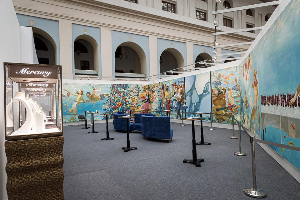 Международная ярмарка современного искусства Cosmoscow и ее 8-й благотворительный аукцион проходит при поддержке официального партнера – ювелирной компании Mercury