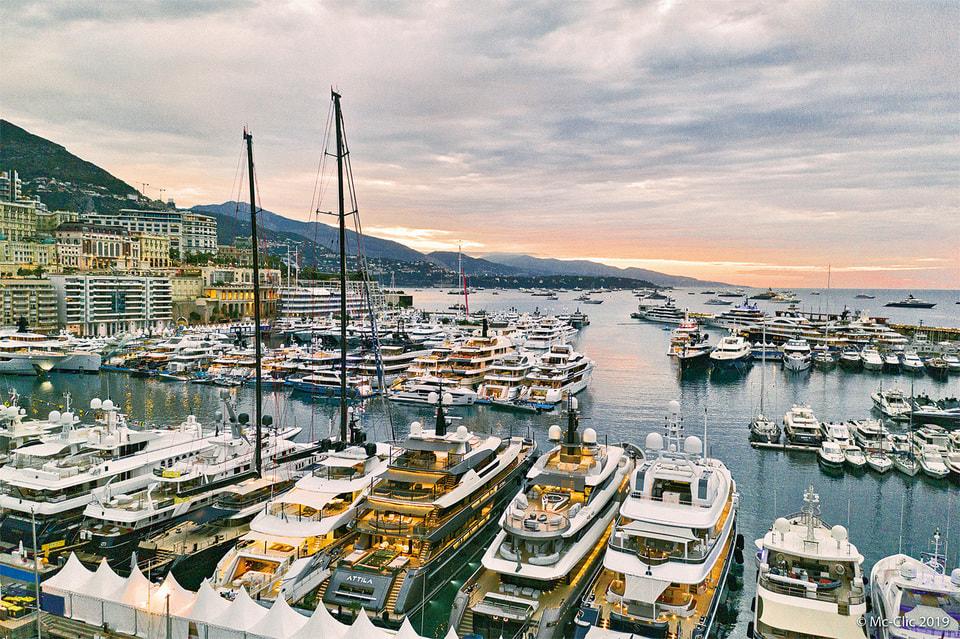 В 2019 г. в Monaco Yacht Show приняли участие 125 суперъяхт
