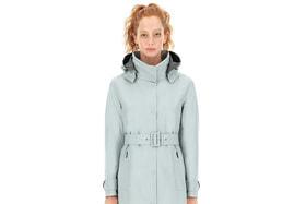 Laminar Couture Engineering, непромокаемый и непродуваемый плащ