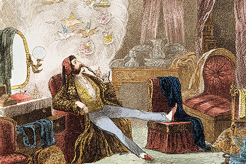Еще два столетия назад в спальне принимали гостей