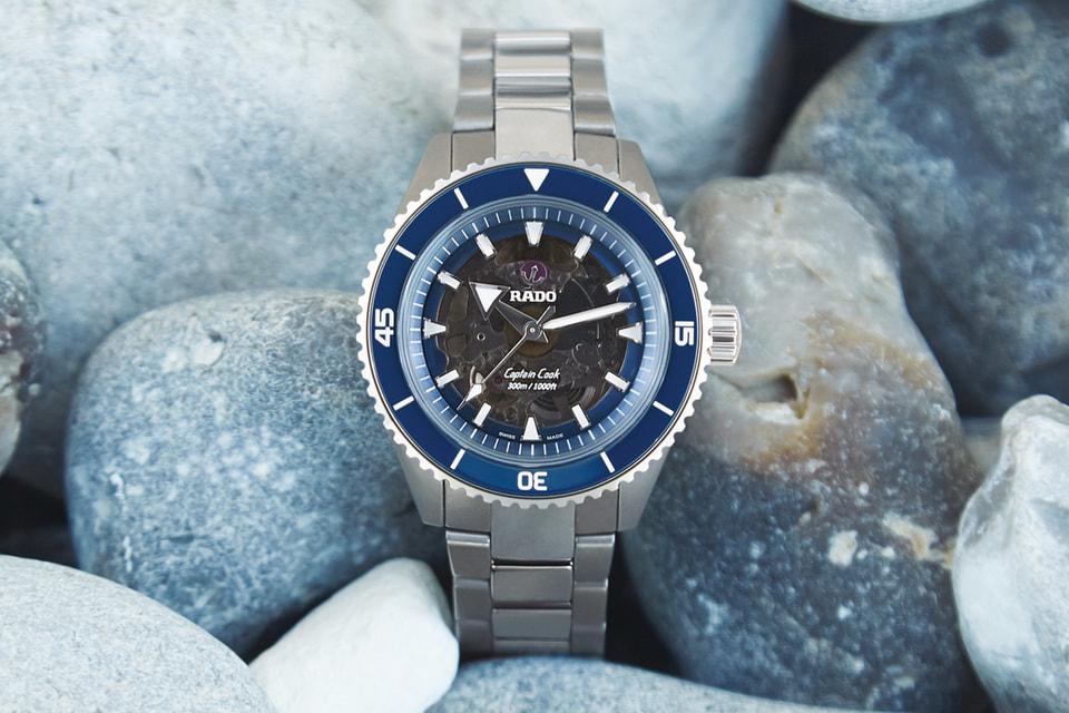 Какие же «морские» часы Rado без синего цвета керамики и якоря на циферблате?
