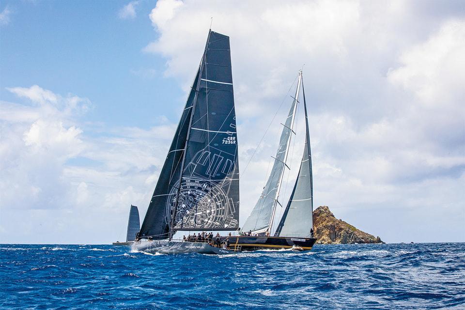 Яхта Maxi 72 Sorcha команды Richard Mille в деле