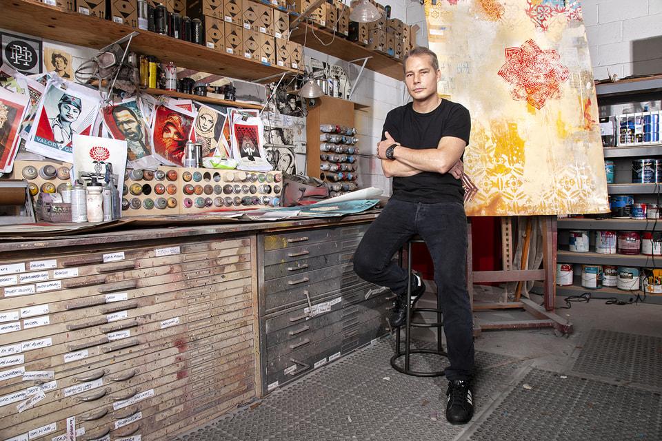 Соавтор коллекции Hublot Loves Art – Шепард Фейри, американский художник, графический дизайнер, диджей и предприниматель