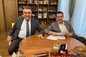 Владельцы сети клиник «Ясный Взор» Игорь и Оник Азнаурян